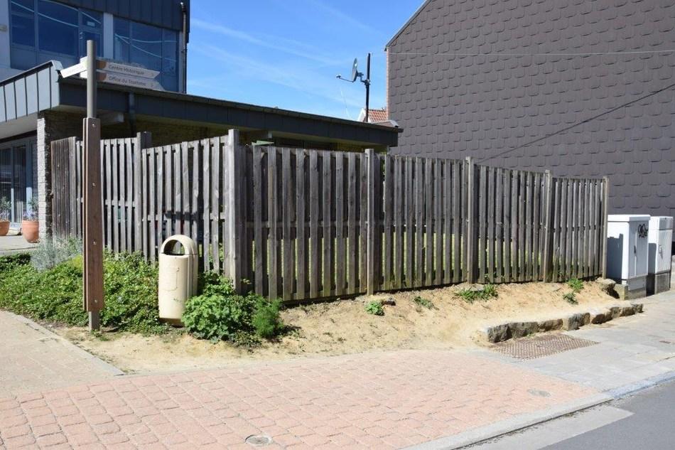 Mur bois Piscine 2